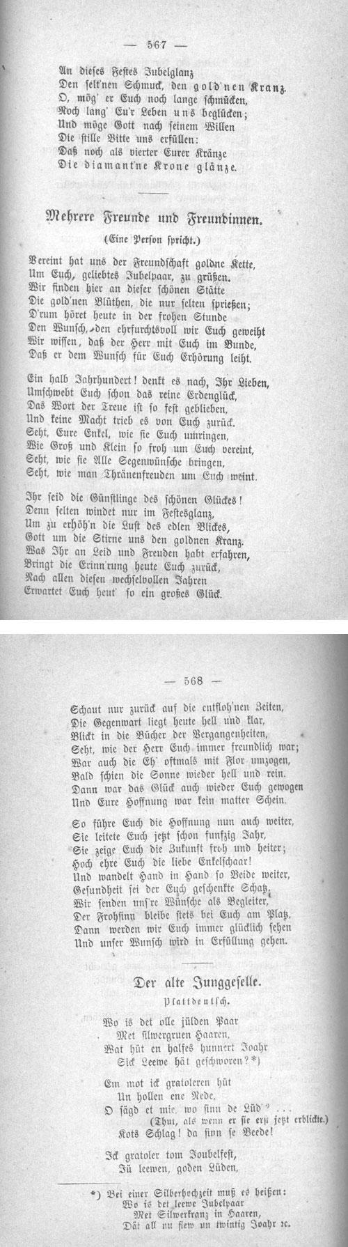 Gedichte Zur Goldenen Hochzeit